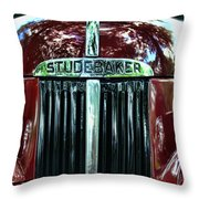1947 Studebaker Grill Throw Pillow