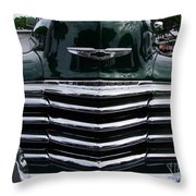 1948 Chevy Coupe Grille Throw Pillow