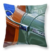 1948 Chrysler Town And Country Convertible Coupe Throw Pillow