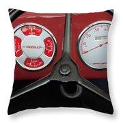1948 Crosley Dashboard Throw Pillow