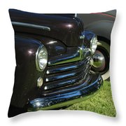1948 Ford Super Deluxe Throw Pillow