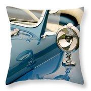 1948 Lloyd Templeton Mercury Saturn Bob Hope Roadster Throw Pillow