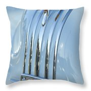 1948 Pontiac Hood Ornament 3 Throw Pillow