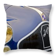 1948 Talbot-lago T-26 Saoutchik Grand Sport Coupe Grille Emblem Throw Pillow