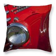1949 Diamond T Truck Emblem Throw Pillow