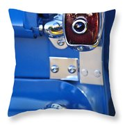 1950 Chevrolet 3100 Pickup Truck Taillight Throw Pillow