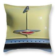 1950 Chevrolet Fleetline Grille 2 Throw Pillow