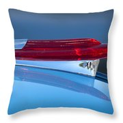 1950 Chevrolet Hood Ornament 5 Throw Pillow