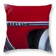 1950 Oldsmobile Rocket 88 Wheel Throw Pillow