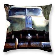 1950 Pontiac  Throw Pillow
