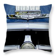 1950 Pontiac Grille Emblem Throw Pillow