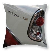 1950s Chevrolet Belair Chevy Antique Vintage Car Throw Pillow