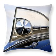 1950s Ford Hood Throw Pillow