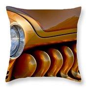 1951 Mercury Grille Throw Pillow