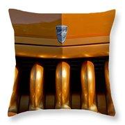 1951 Mercury Hot Rod Grille Throw Pillow