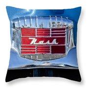 1951 Nash Emblem Throw Pillow