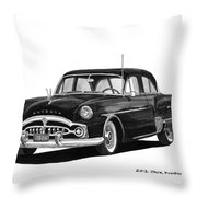 1951 Packard Patrician 400 Throw Pillow