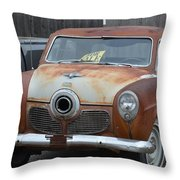 1951 Studebaker Throw Pillow