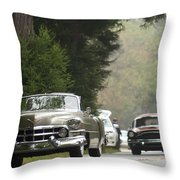 1952 Cadillac Special Roadster Throw Pillow