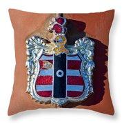 1952 Dodge Emblem Throw Pillow