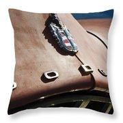 1952 Dodge Hood Emblem Throw Pillow