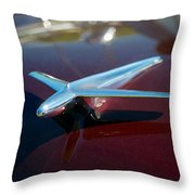1952 Ford Customline Throw Pillow