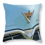 1952 Studebaker Hood Emblem Throw Pillow
