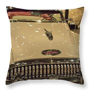 1953 Buick Skylark Convertible  Throw Pillow