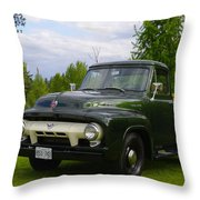 1953 Ford F-100 Throw Pillow
