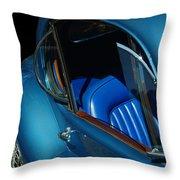 1953 Jaguar 120m Wind Wings Throw Pillow