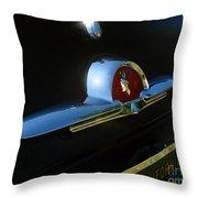 1953 Mercury Monterey Hood Emblem Throw Pillow