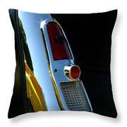 1953 Mercury Monterey Taillight Throw Pillow