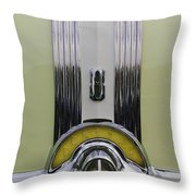 1953 Pontiac Emblem Throw Pillow