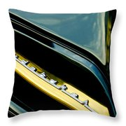 1953 Studebaker Champion Starliner Grille Emblem Throw Pillow