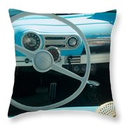 1954 Chevy Flo Abel Throw Pillow