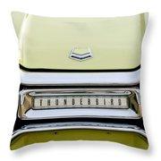 1954 Ford Thunderbird Taillight Emblem Throw Pillow