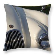 1954 Jaguar Xk 120 Se Roadster Throw Pillow