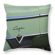 1954 Lincoln Capri Throw Pillow