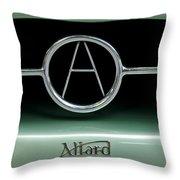 1955 Allard J2r Emblem Throw Pillow