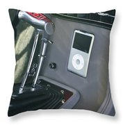 1955 Chevrolet 210 Modified Throw Pillow