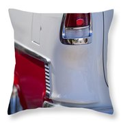 1955 Chevrolet 210 Taillight Throw Pillow