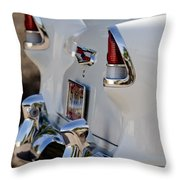 1955 Chevrolet 210 Taillights Throw Pillow