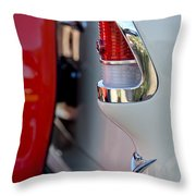 1955 Chevrolet Belair Taillight Emblem Throw Pillow