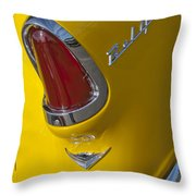 1955 Chevrolet Nomad Taillight Throw Pillow
