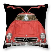 300 S L Gull Wing  Throw Pillow