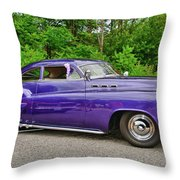 1956 Buick   7767 Throw Pillow
