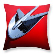 1956 Buick Riviera Special Throw Pillow