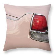 1956 Cadillac Taillight Throw Pillow