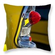 1956 Chevrolet Belair Taillight Throw Pillow