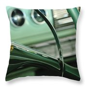 1956 Dodge Coronet Steering Wheel Throw Pillow